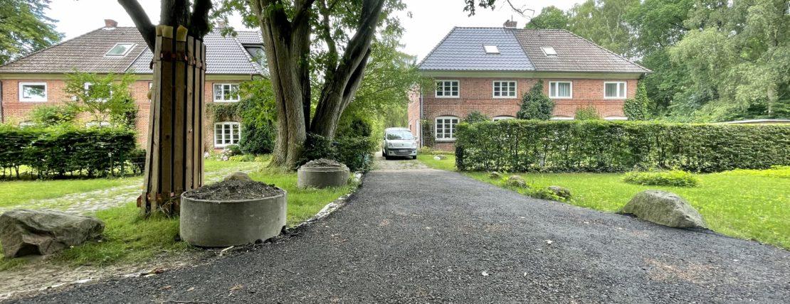 Privateigentümer aus den USA verkauft Baugrundstück in Hamburg-Volksdorf